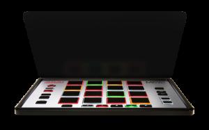 Smaller sized MIDI pad controller