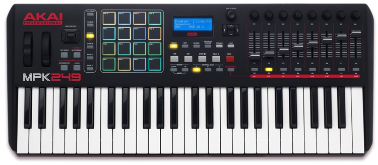 The MPK249 front view