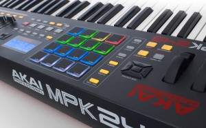 The all-new Akai MPK249 MIDI controller