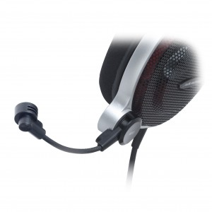 Both headsets come with a high quality, adjustable condenser microphone