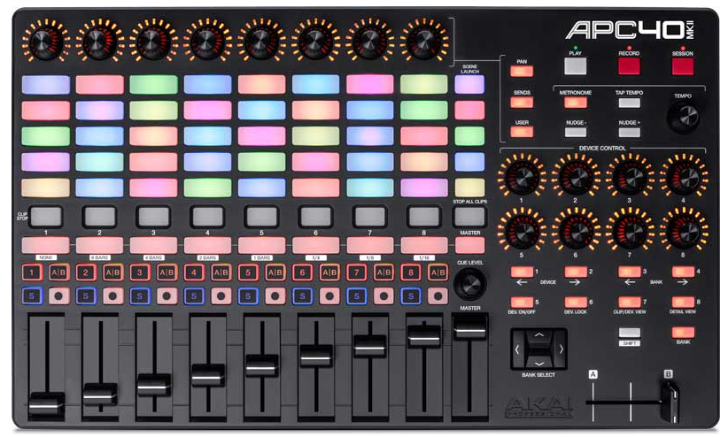 The new Ableton performance controller by Akai