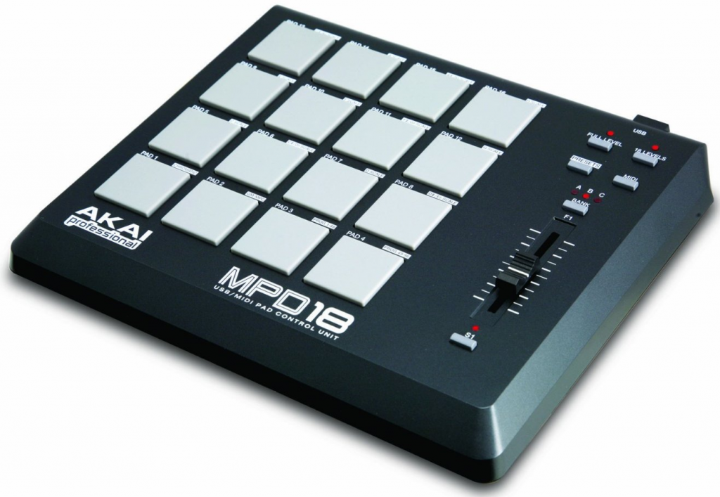 16 pad drum machine