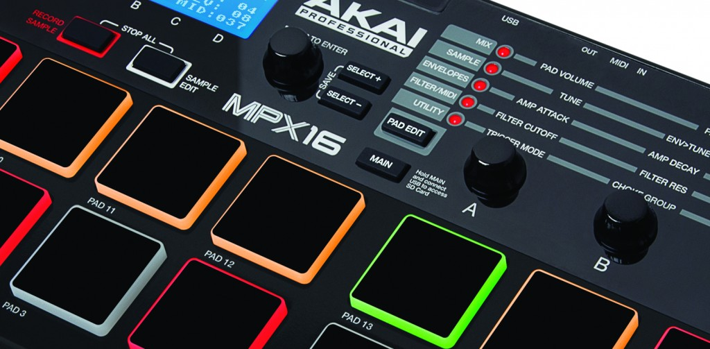 The Akai MPX16 review
