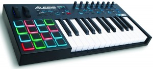 The Alesis VI25 MIDI Pad Controller Keyboard