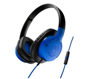 Audio Technica ATH-AX1iS blue model