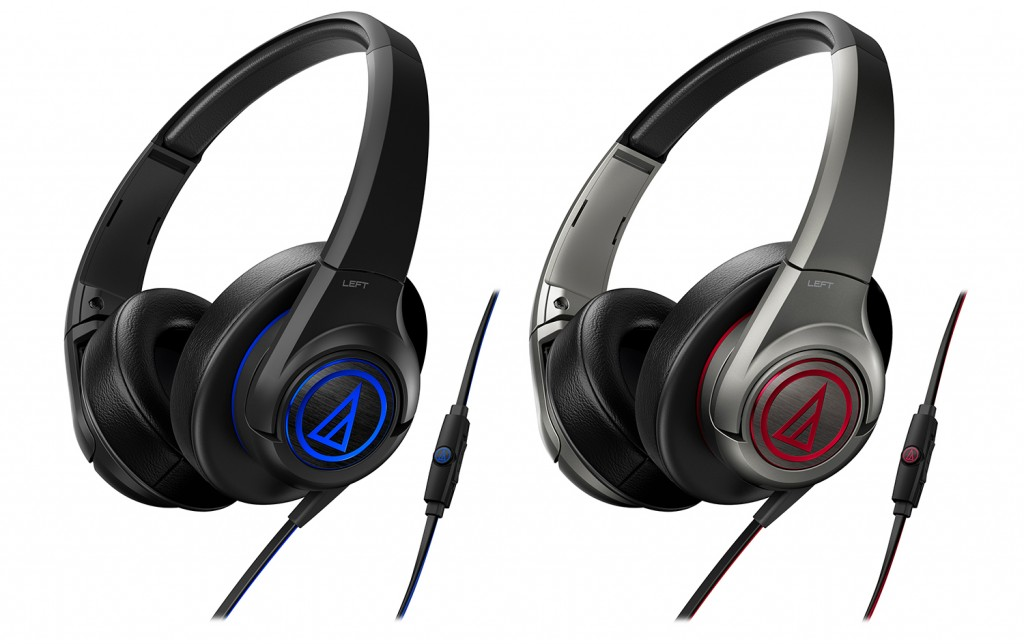 The ATH-AX5XiS over-ear headphones