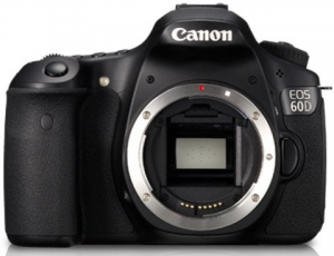 We like the 60D for music videos because of the high frame rate