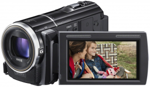 We like the HDRPJ260V for music videos because of the quality