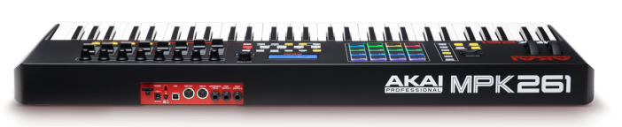 The Akai MPK261 MIDI Keyboard