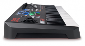 The side view of the MPK261 by Akai