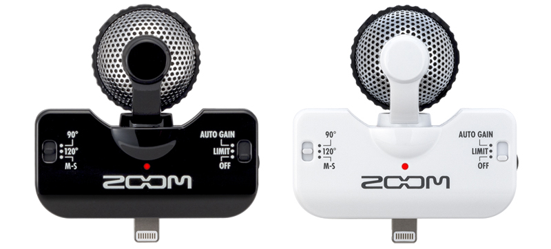 The Zoom iQ5 microphone review
