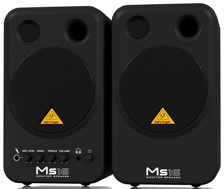 A very cheap but surprisingly powerful studio monitor