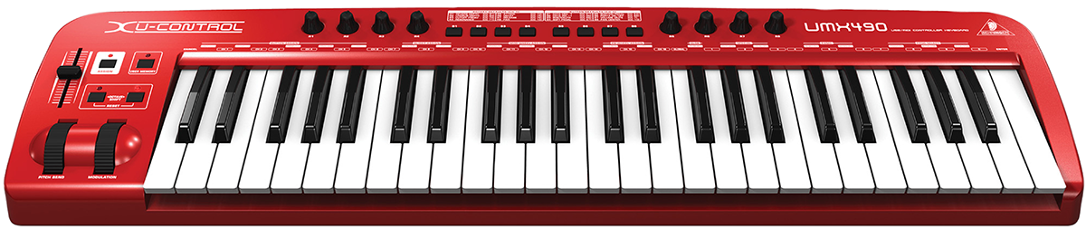 A solid keyboard by Behringer