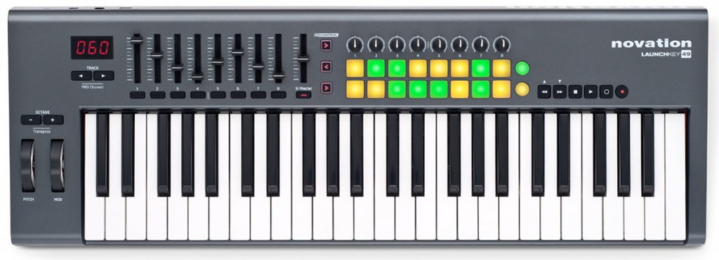 Our pick for the best 49 key MIDI keyboard controller