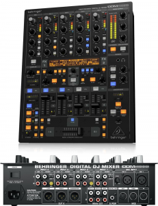 A very solid DJ mixer by Behringer