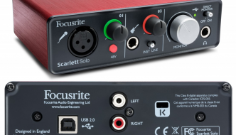 Focusrite Scarlett Solo USB Audio Interface Review