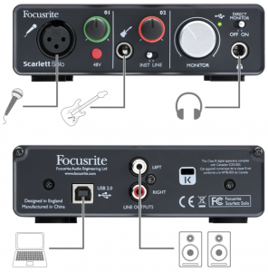 Short and sweet audio interface stuff
