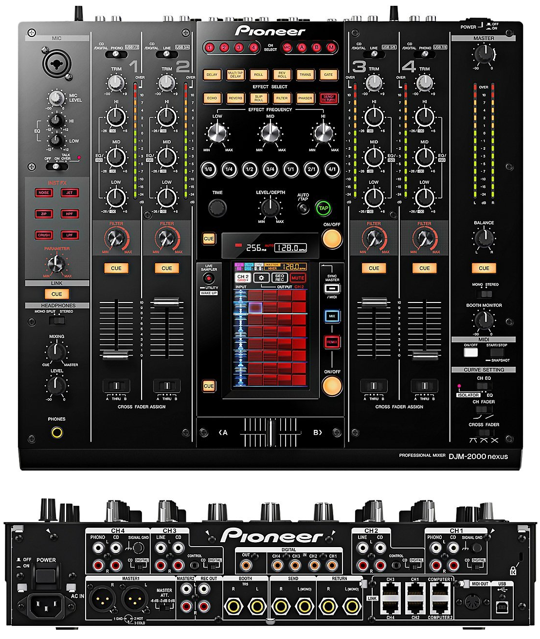 Incredible The Top 10 Best Dj Mixers On Earth The Wire Realm Largest Home Design Picture Inspirations Pitcheantrous