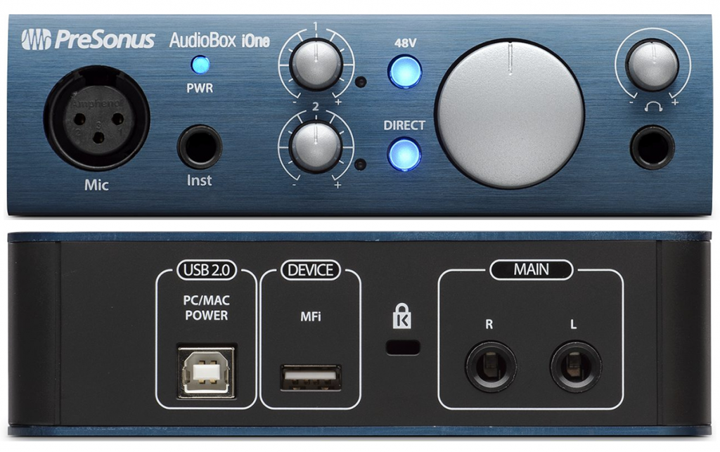 Review of the AudioBox iOne by PreSonus