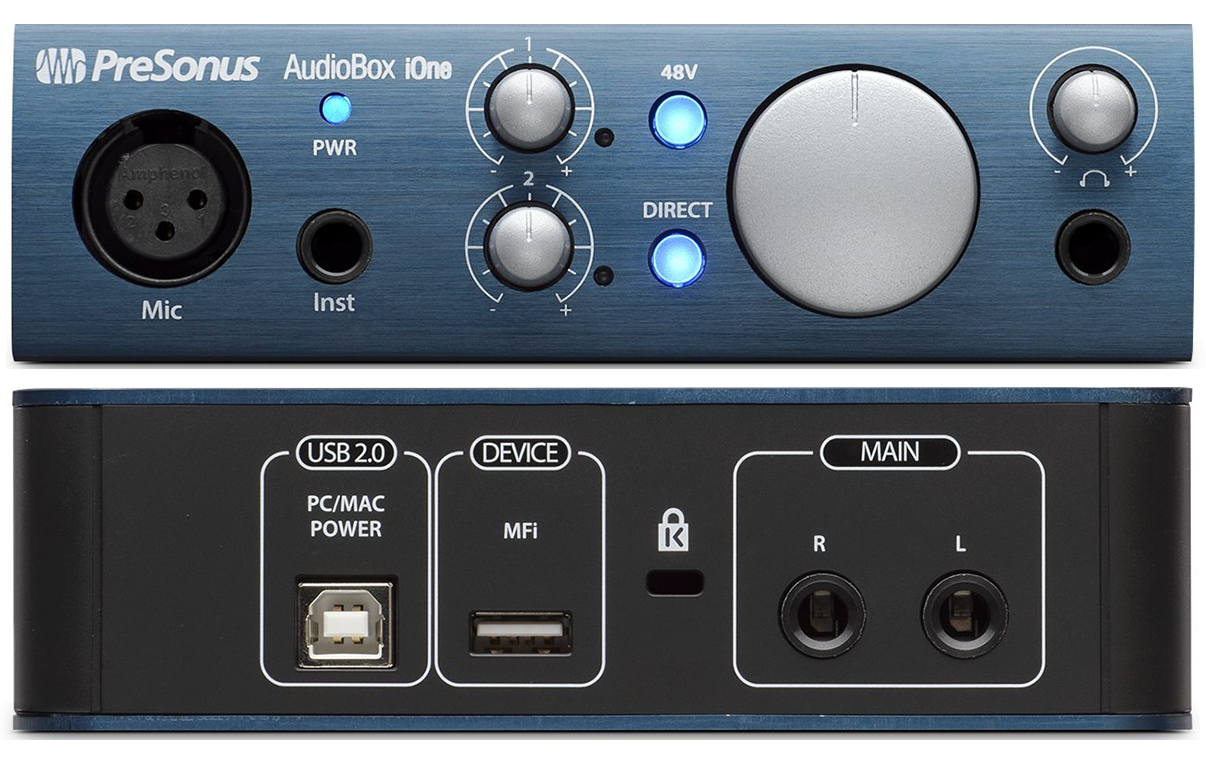 presonus audiobox ione audio interface review the wire realm. Black Bedroom Furniture Sets. Home Design Ideas