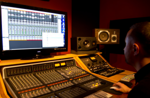 Mixing with studio monitors or headphones?