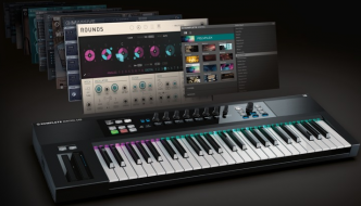 Native Instruments Kontrol S49 MIDI Keyboard Review