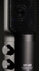 A beautiful USB microphone