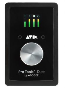 Apogee and Avid pair up for a nice audio interface