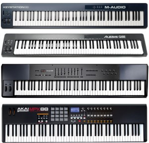 We highlight 88 key MIDI keyboards and the best