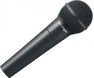 A higher quality karaoke mic