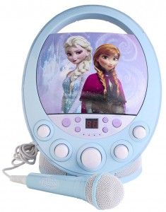 If your kids like Frozen this karaoke machine is great