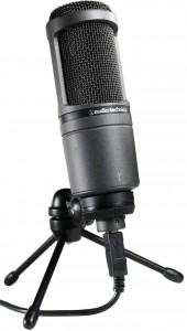 A top-quality USB microphone