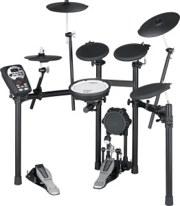 A monster of an electronic drum kit