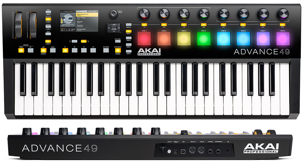 akai advance 49 midi keyboard controller review the wire realm