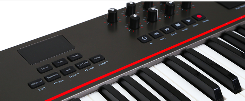 We review the new 88-key MIDI keyboard controller by Nektar