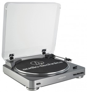 An turntable with only the essential features