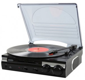 A super cheap turntable for listening to records