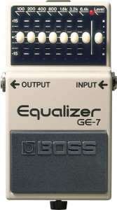 Another famous guitar pedal by Boss