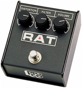 An amazing distortion guitar pedal