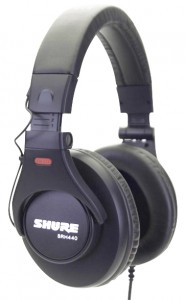 Another one of the best over-ear headphones by Shure
