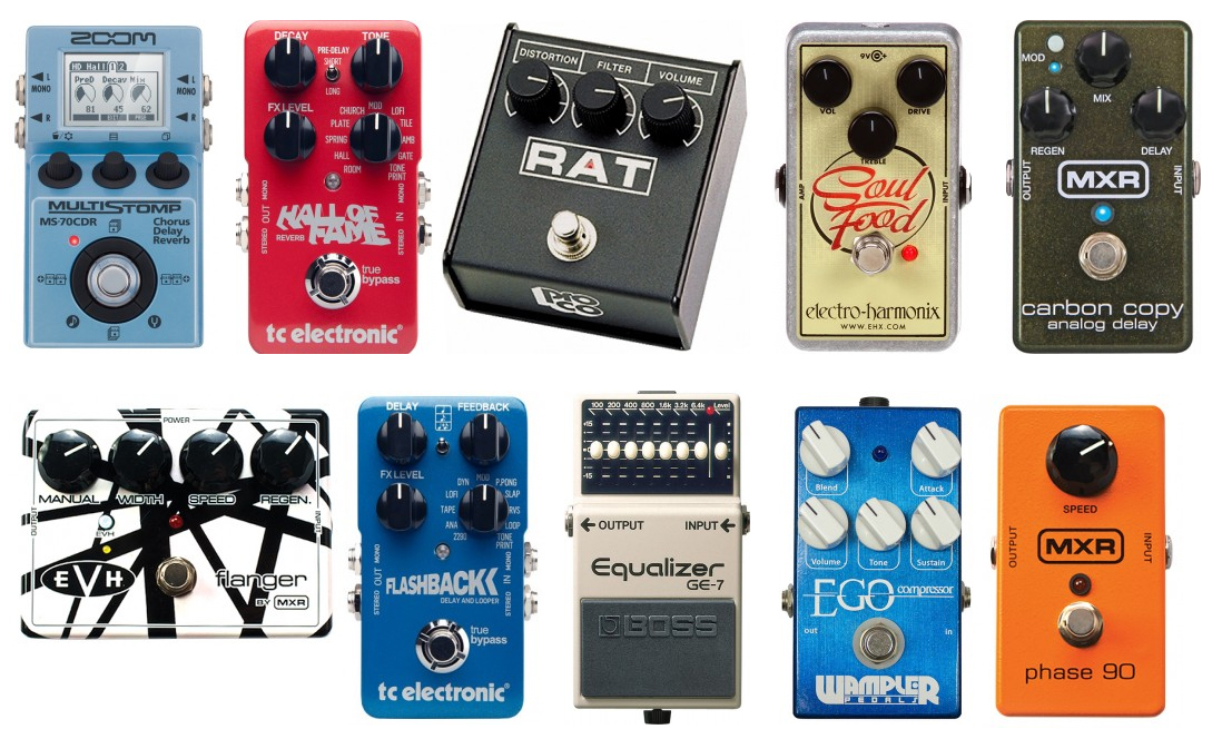 The Top 10 Best Guitar Pedals In The Market The Wire Realm