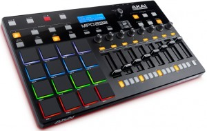 We review the top model of Akai's new drum pad controllers, the MPD232