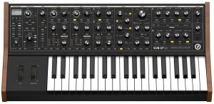 If you want a beast, the sub 37 synth is sweet