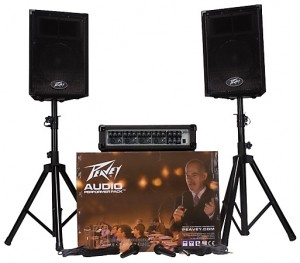 Here's a PA system package well worth the money