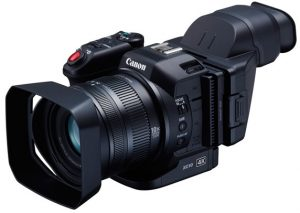 An amazing pro-grade video camera that films in 4K resolution