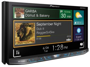An amazing touchscreen car stereo