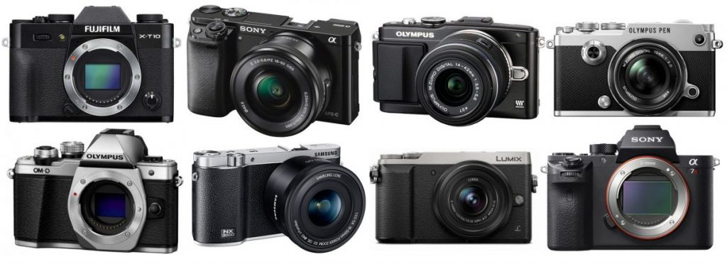 The Best Mirrorless Cameras for Filming Videos - The Wire Realm