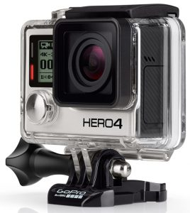 An amazing video camera for filming extreme sports