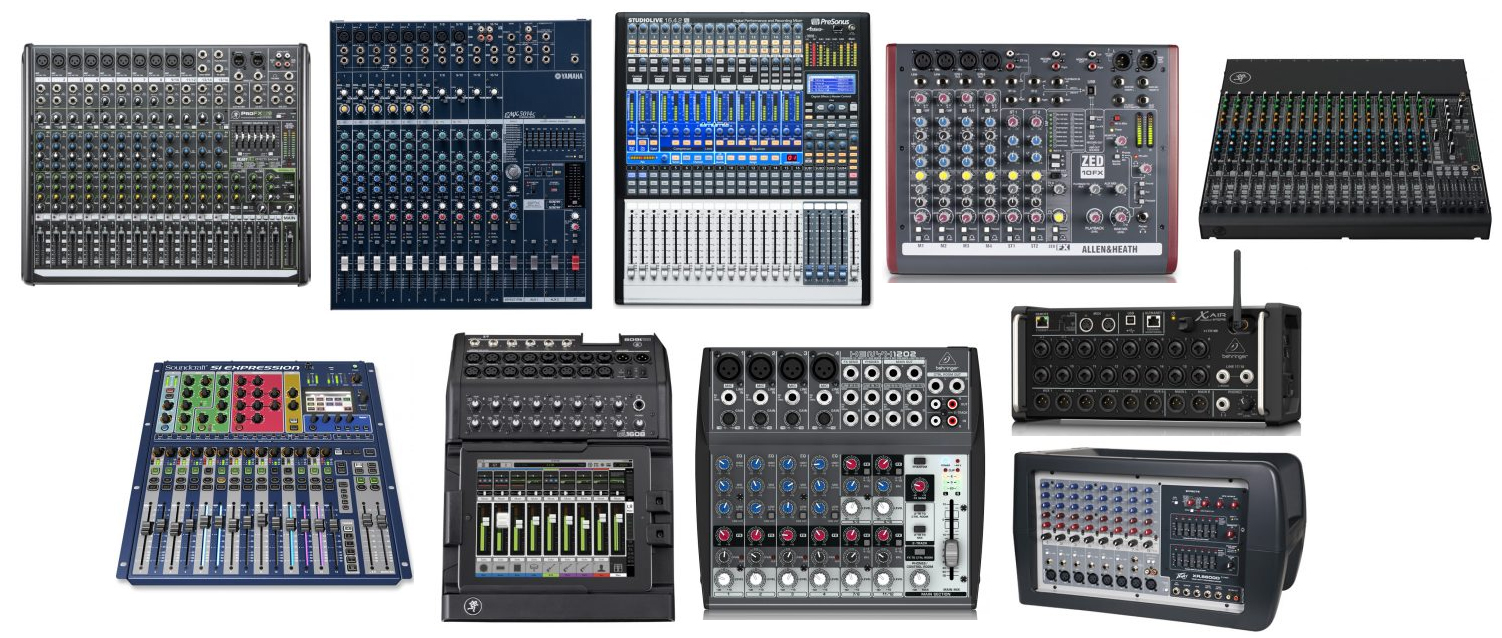 Terrific The Top 10 Best Audio Mixers For The Money The Wire Realm Largest Home Design Picture Inspirations Pitcheantrous
