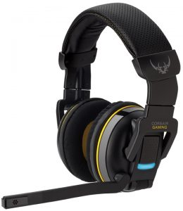 A sleek and sturdy wireless gaming headset here